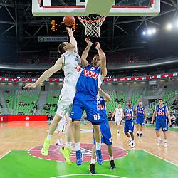 20121217: SLO, Basketball - ABA League, KK Union Olimpija vs KK Buducnost Voli Podgorica
