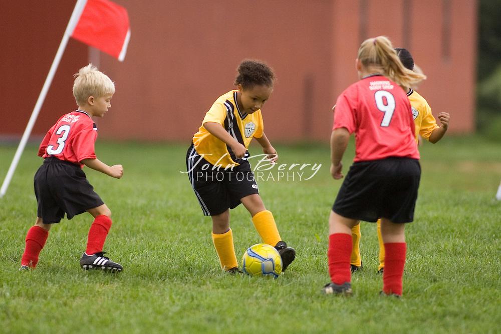 U8 Soccer .Dove vs Jasper .September 16, 2006