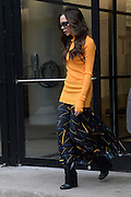 Feb. 8, 2016 - New York, NY, USA -<br /> <br /> Victoria Beckham leaves an office building in the Chelsea neighborhood of New York City <br /> ©Exclusivepix Media