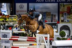 VORSSELMANS Annelies (BEL), Wilandro 3<br /> Grand Prix von Volkswagen<br /> Int. jumping competition over two rounds (1.55 m) - CSI3*<br /> Comp. counts for the LONGINES Rankings<br /> Braunschweig - Classico 2020<br /> 08. März 2020<br /> © www.sportfotos-lafrentz.de/Stefan Lafrentz