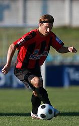 Davor Skerjanc (15) of Primorje at 6th Round of PrvaLiga Telekom Slovenije between NK Primorje Ajdovscina vs NK Rudar Velenje, on August 24, 2008, in Town stadium in Ajdovscina. Primorje won the match 3:1. (Photo by Vid Ponikvar / Sportal Images)