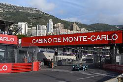 May 11, 2019 - Monaco, Monaco - 3 Englis driver Alex Lynn  of Panasonic Jaguar Racing drive her single-seater during the 3rd edition Monaco E-Prix, in port neighborhood in Monaco, France  (Credit Image: © Andrea Diodato/NurPhoto via ZUMA Press)