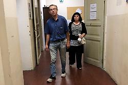 I GENITORI DI MANUEL SARTORI<br /> PROCESSO OMICIDIO VINCELLI BOLOGNA