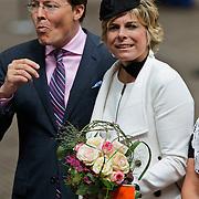 NLD/Middelburg/20100430 -  Koninginnedag 2010, Laurentien en partner Constantijn