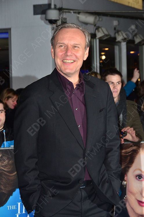 04.JANUARY.2012. LONDON<br /> <br /> ANTHONY HEAD AT THE EUROPEAN PREMIERE OF THE IRON LADY AT THE BFI SOUTHBANK IN LONDON<br /> <br /> BYLINE: EDBIMAGEARCHIVE.COM<br /> <br /> *THIS IMAGE IS STRICTLY FOR UK NEWSPAPERS AND MAGAZINES ONLY*<br /> *FOR WORLD WIDE SALES AND WEB USE PLEASE CONTACT EDBIMAGEARCHIVE - 0208 954 5968*