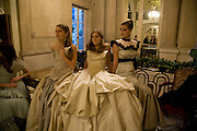 ANNA HESKETH; VIOLET HESKETH; ENYAT YOUNES. The 2008 Crillon Debutante Ball. Getting Ready the Day before. Crillon Hotel. Paris. 29 November 2008. *** Local Caption *** -DO NOT ARCHIVE-© Copyright Photograph by Dafydd Jones. 248 Clapham Rd. London SW9 0PZ. Tel 0207 820 0771. www.dafjones.com.