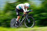 Christopher Froome (GBR - Team Sky) during the 101th Tour of Italy, Giro d'Italia 2018, stage 16, Trento - Rovereto 34.5 km on May 22, 2018 in Italy - Photo Luca Bettini / BettiniPhoto / ProSportsImages / DPPI