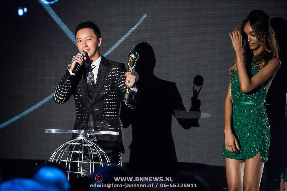 MON/Monaco/20140527 -World Music Awards 2014, Chinese singer Han Geng