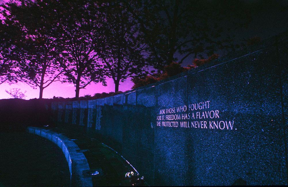 Infrared- Vietnam Veterans Memorial -Philadelphia