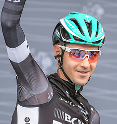 02.07.2017, Duesseldorf, GER, Tour de France, 2. Etappe von Düsseldorf (GER) nach Lüttich (BEL/203 km), im Bild BUCHMANN Emanuel (GER, Team Bora-hansgrohe) // Emanuel Buchmann of Germany during Stage 2 from Duesseldorf (GER) to Luettich (BEL/203 km) of the 2017 Tour de France in Duesseldorf, Germany on 2017/07/02. EXPA Pictures © 2017, PhotoCredit: EXPA/ Martin Huber