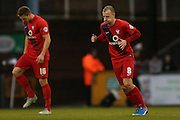 York City midfielder Luke Summerfield back in team during the Sky Bet League 2 match between Bristol Rovers and York City at the Memorial Stadium, Bristol, England on 12 December 2015. Photo by Simon Davies.