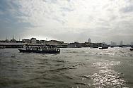 Chao Phraya-rivier in bangkok