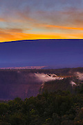 Steam vents, Halemaumau Crater, Kilauea Volcano, HVNP, Big Island of Hawaii