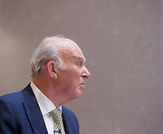 Liberal Democrat Leadership press conference. <br /> <br /> <br /> <br /> 20th July 2017 <br /> at The St Ermin&rsquo;s Hotel, London. Great Britain <br /> &nbsp;<br /> Vince Cable <br /> new leader of the Liberal Democrats  <br /> <br /> Photograph by Elliott Franks <br /> Image licensed to Elliott Franks Photography Services