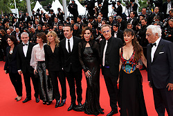 """CANNES - MAY 18: Premiere of """" Les Plus Belles Annees D'une Vie """" during the 2019 Cannes Film Festival on May 18, 2019 at Palais des Festivals in Cannes, France. CAP/MPI/IS ©IS/MPI/Capital Pictures. 18 May 2019 Pictured: Mathilde Seignier, Jean Dujardin, Elsa Zilberstein, Christophe L. Photo credit: IS/MPI/Capital Pictures / MEGA TheMegaAgency.com +1 888 505 6342"""