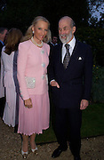 Prince and Princess Michael of Kent. Cartier dinner after thecharity preview of the Chelsea Flower show. Chelsea Physic Garden. 23 May 2005. ONE TIME USE ONLY - DO NOT ARCHIVE  © Copyright Photograph by Dafydd Jones 66 Stockwell Park Rd. London SW9 0DA Tel 020 7733 0108 www.dafjones.com