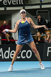 February 6, 2019 - Zielona Gora, Poland - Anastasia Pavlyuchenkova (RUS) during Tennis 2019 Fed Cup by Paribas Europe/Africa Zone Group 1  match between Poland and Russia  in Zielona Gora, Poland, on 7 February 2019. (Credit Image: © Foto Olimpik/NurPhoto via ZUMA Press)