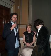 IDRIS KHAN; MILLY GLIMCHER; ADAM WAYMOUTH, Calder After The War. Pace London. Burlington Gdns. London. 18 April 2013.