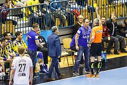 Tamse Branko head coach of RK Celje Pivovarna Lasko during handball match between RK Celje Pivovarna Lasko (SLO) and IFK Kristianstad (SWE) in Group phase of EHF Men's Champions League 2016/17, on February 11, 2017 in Arena Zlatorog, Celje, Slovenia. Photo by Grega Valancic