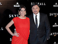 "CARLOS BARDEM AND CECILIA GESSA.attend the premiere of the twenty-third 007 adventure, ""Skyfall"" at Santa Ana Square, Madrid_29/10/2012.Mandatory Credit Photo: ©NEWSPIX INTERNATIONAL..**ALL FEES PAYABLE TO: ""NEWSPIX INTERNATIONAL""**..IMMEDIATE CONFIRMATION OF USAGE REQUIRED:.Newspix International, 31 Chinnery Hill, Bishop's Stortford, ENGLAND CM23 3PS.Tel:+441279 324672  ; Fax: +441279656877.Mobile:  07775681153.e-mail: info@newspixinternational.co.uk"