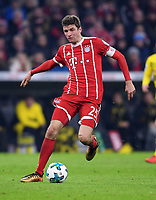 Fussball  DFB Pokal  Achtelfinale  2017/2018   FC Bayern Muenchen - Borussia Dortmund        20.12.2017 Thomas Mueller (FC Bayern Muenchen)