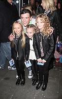 George Samspon, Frozen - VIP Screening, Odeon Leicester Square, London UK, 17 November 2013, Photo by Brett D. Cove