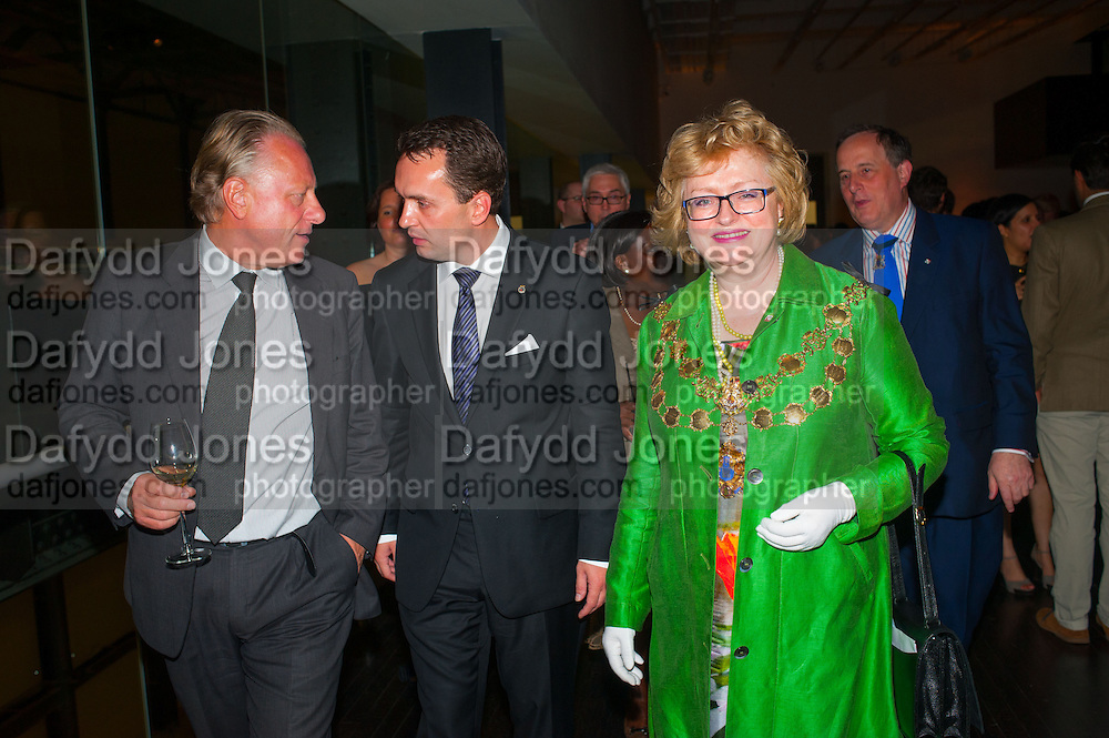 Stein Olav Henrichsen; STIAN BERGER ROSHAN; THE ACTING GOVERNOR MAYOR OF OSLO; ANGELA HARVEY; LORD MAYOR OF WESTMINSTER; , Edvard Munch, the Modern Eye. Tate Modern, 26 June 2012.