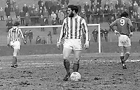 Jim Crossan, footballer, Derry City FC, Londonderry, N Ireland, April, 1970, 197004000115<br /> <br /> Copyright Image from<br /> Victor Patterson<br /> 54 Dorchester Park<br /> Belfast, N Ireland, UK, <br /> BT9 6RJ<br /> <br /> t1: +44 28 90661296<br /> t2: +44 28 90022446<br /> m: +44 7802 353836<br /> e1: victorpatterson@me.com<br /> e2: victorpatterson@gmail.com<br /> <br /> www.victorpatterson.com