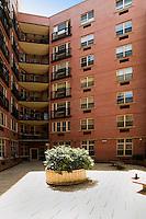 Courtyard at 163 Saint Nicholas Avenue