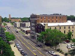 05 June 2014:   Downtown Bloomington.  Looking east down Washington St.