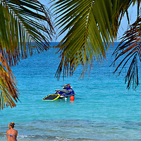 Wave Runner Tour at Great Stirrup Cay, Bahamas<br />