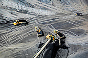 Mountain top removal coal mines in Blair County, West Virginia. James Weekley.