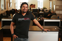 May 23, 2017 - Puslinch, ON, Canada - TORONTO, ON- MAY 23 - Social entrepreneur SamHaque, founder of Wise Media, at Regent Park Centre for Social Innovation. In Toronto. May 23, 2017. Sam prefers to go by his business name ''Sam Wise.'' Steve Russell/Toronto Star (Credit Image: © Steve Russell/The Toronto Star via ZUMA Wire)