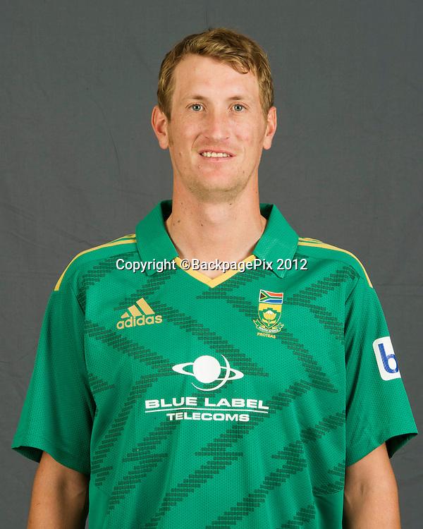 Chris Morris of South Africa