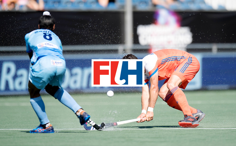 BREDA - Rabobank Hockey Champions Trophy<br /> The Netherlands - India<br /> Photo: Robbert Kemperman.<br /> COPYRIGHT WORLDSPORTPICS FRANK UIJLENBROEK