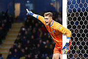 Gillingham FC goalkeeper Tomas Holy (1) during the EFL Sky Bet League 1 match between Burton Albion and Gillingham at the Pirelli Stadium, Burton upon Trent, England on 12 January 2019.