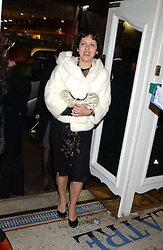 ISABELLA BLOW at a special Grand Classic screening of Place Vendome to celebrate Catherine Deneuve as MAC Beauty Icon 3 held at The Elecric Cinema, Portobello Road, London W11 on 30th January 2006.<br /><br />NON EXCLUSIVE - WORLD RIGHTS