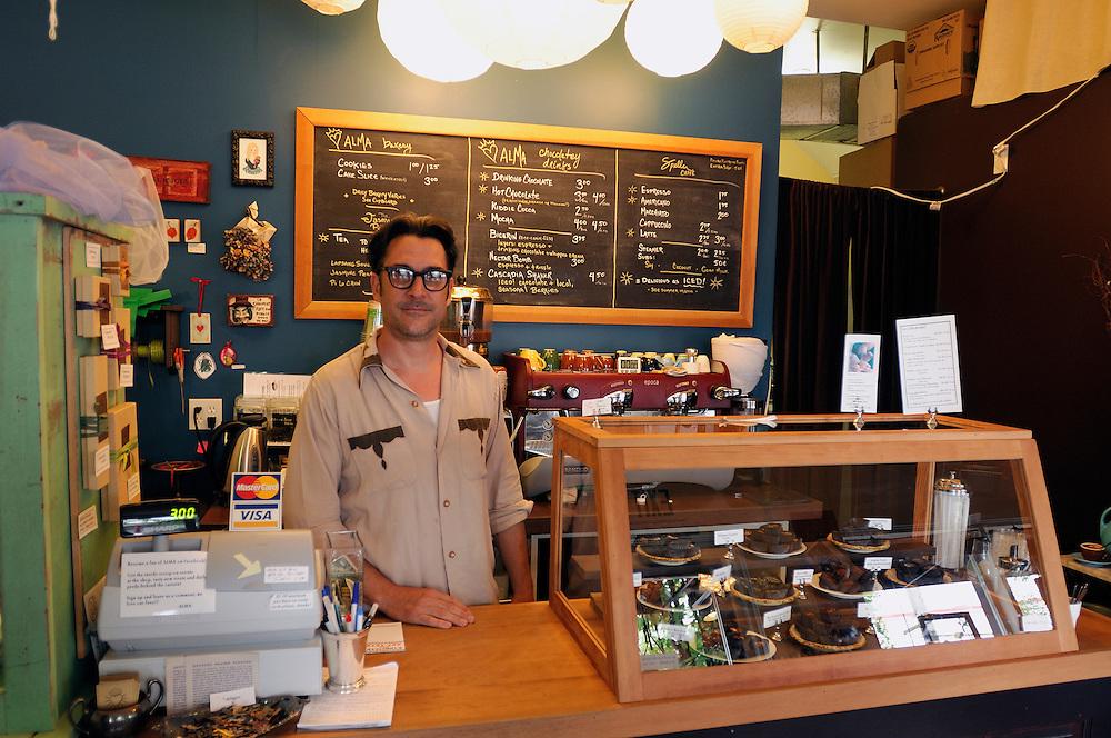 Alma Chocolate Store, 140 28th Avenue, Portland, Oregon, USA