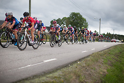 Christina Perchtold (AUT) of Cervélo-Bigla Cycling Team rides mid-pack on Stage 1 of the Ladies Tour of Norway - a 101.5 km road race, between Halden and Mysen on August 18, 2017, in Ostfold, Norway. (Photo by Balint Hamvas/Velofocus.com)