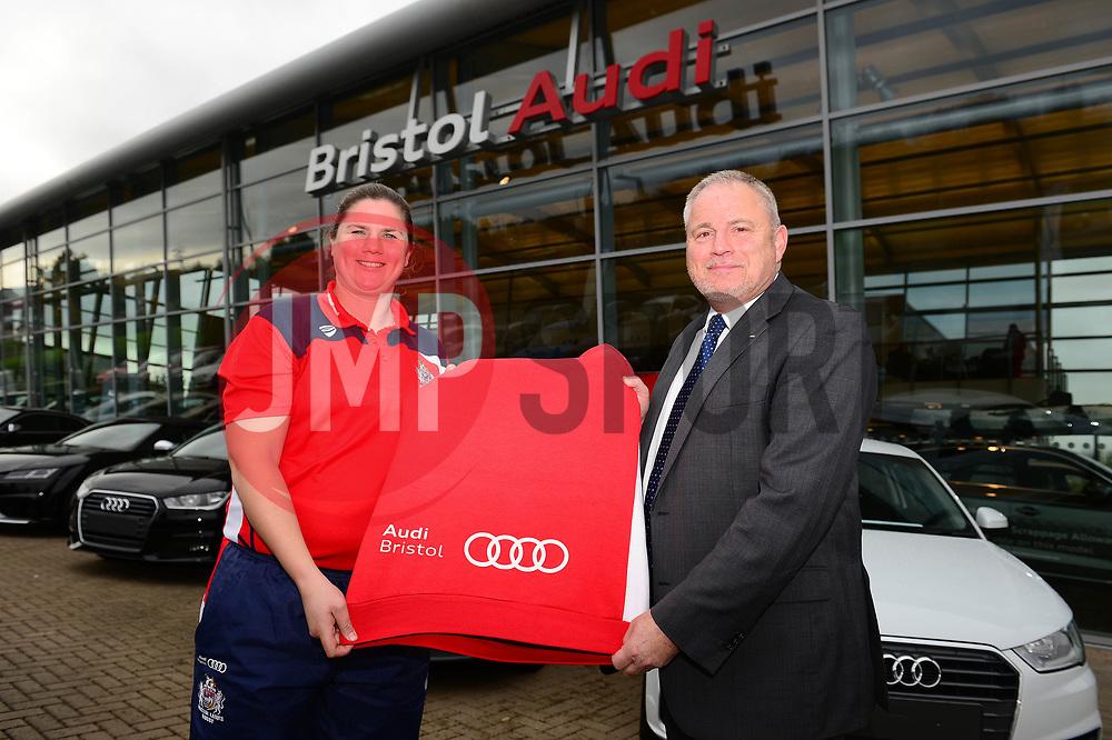 Bristol Audi sponsor Bristol Ladies rugby - Mandatory by-line: Dougie Allward/JMP - 31/10/2017 - FOOTBALL - Bristol Audi - Bristol, England - Bristol Rugby Ladies Audi Sponsor