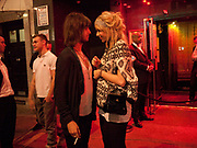 DAVID ARTHUR JNR. KATIA IVANOVA, ( RONNIE WOOD'S X) After-party for the film premiere of BONDED BY BLOOD at Punk Soho. London. 31 August 2010. -DO NOT ARCHIVE-© Copyright Photograph by Dafydd Jones. 248 Clapham Rd. London SW9 0PZ. Tel 0207 820 0771. www.dafjones.com.