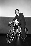 Seamus O'Hanlon, winner of Rás Tailteann, the annual eight day international cycling stage race. 1962. 14.08.1962. 08.14.1962. 14th August 1962. <br />