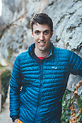 Rab climbing athletes Jacob Cook and Bronwyn Hodgins enjoying a climbing trip at Tres Ponts, Spain