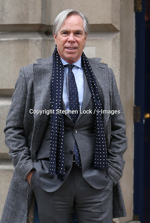 Designer Tommy Hilfiger at London Menswear Fashion Week, Tuesday, 8th January 2013 Photo by: Stephen Lock / i-Images