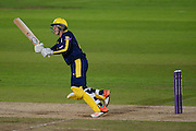 Brad Wheal of Hampshire batting during the Royal London One Day Cup match between Hampshire County Cricket Club and Somerset County Cricket Club at the Ageas Bowl, Southampton, United Kingdom on 2 August 2016. Photo by David Vokes.