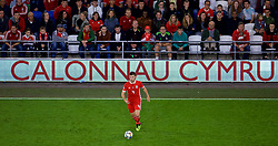 CARDIFF, WALES - Thursday, September 6, 2018: Wales' Ben Davies during the UEFA Nations League Group Stage League B Group 4 match between Wales and Republic of Ireland at the Cardiff City Stadium. (Pic by Laura Malkin/Propaganda)