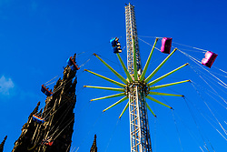 Edinburgh's Christmas 2019: The Star Flyer thrill ride in Princes Street Gardens