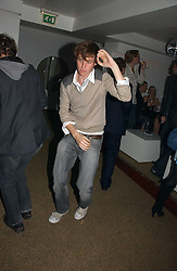 Actor EDDIE REDMAYNE at a party to celebrate the publication of Tatler's Little Black Book 2006 held at 24, 24 Kingley Street, London W1 on 9th November 2006.<br /><br />NON EXCLUSIVE - WORLD RIGHTS
