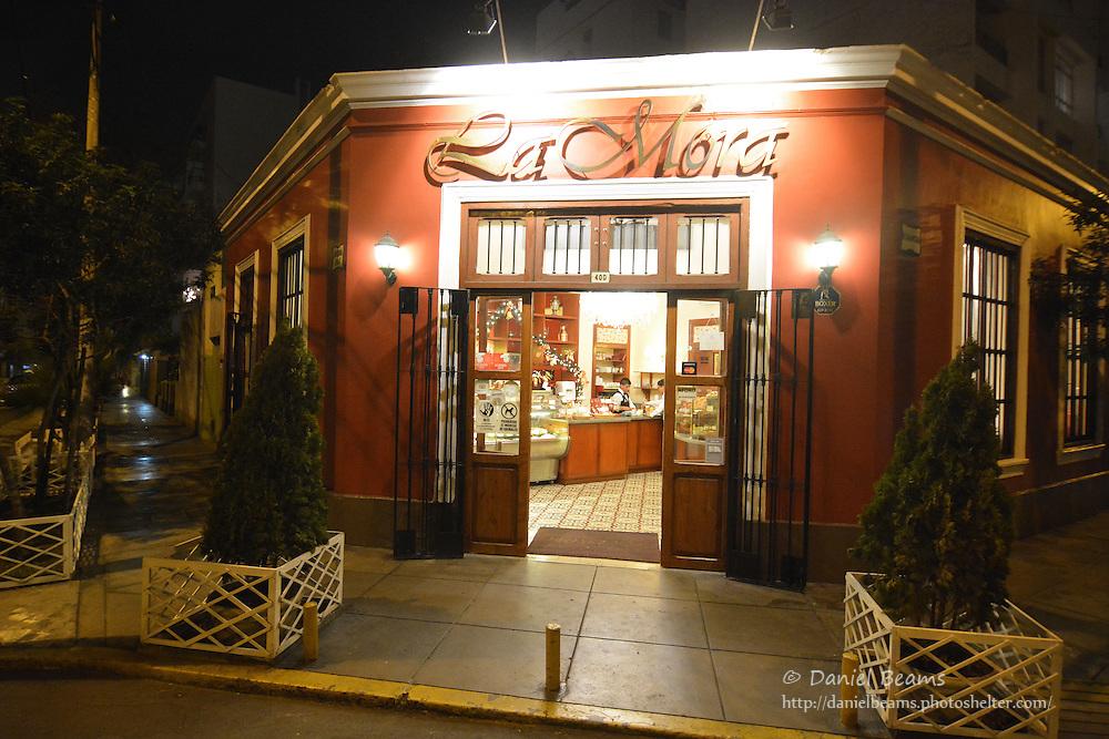 La Mora bakery in Mira Flores, Lima, Peru