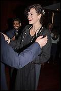 JASMINE GUINNESS; , Liberatum Cultural Honour for Francis Ford Coppola<br /> with Bulgari Hotel & Residences, London. 17 November 2014